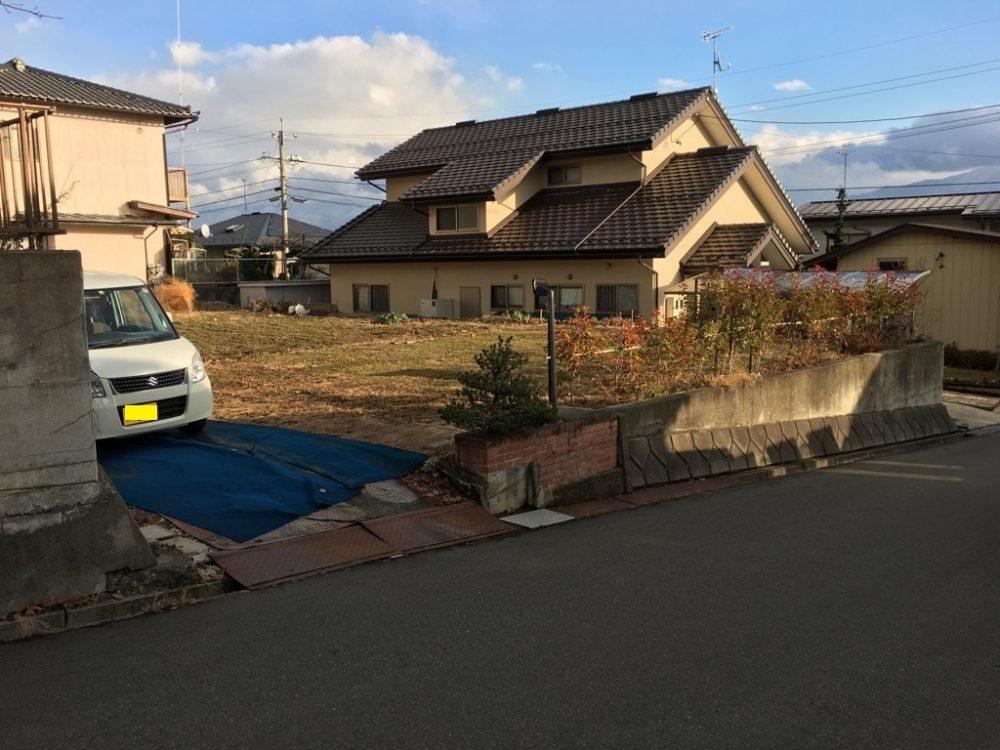 長野市 徳間 土地