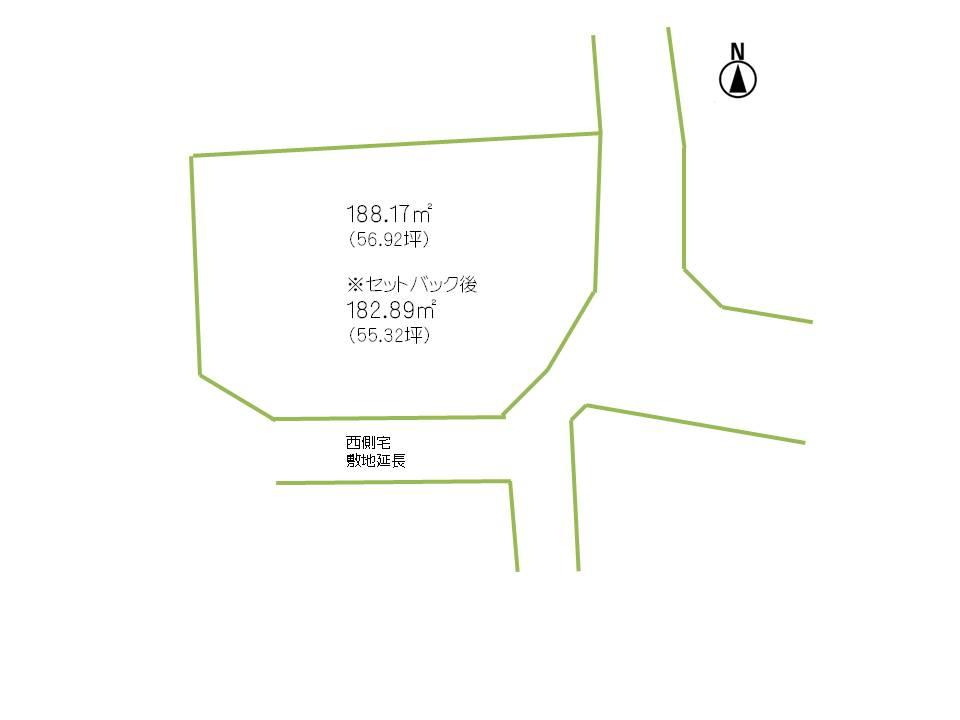 長野市三輪 9丁目土地