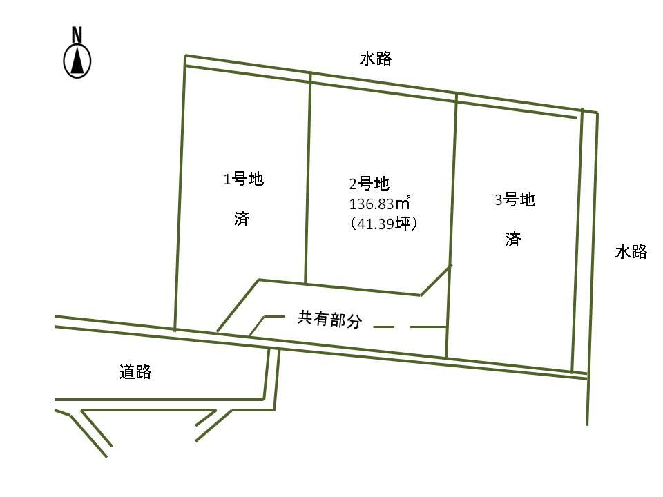 長野市篠ノ井御幣川土地