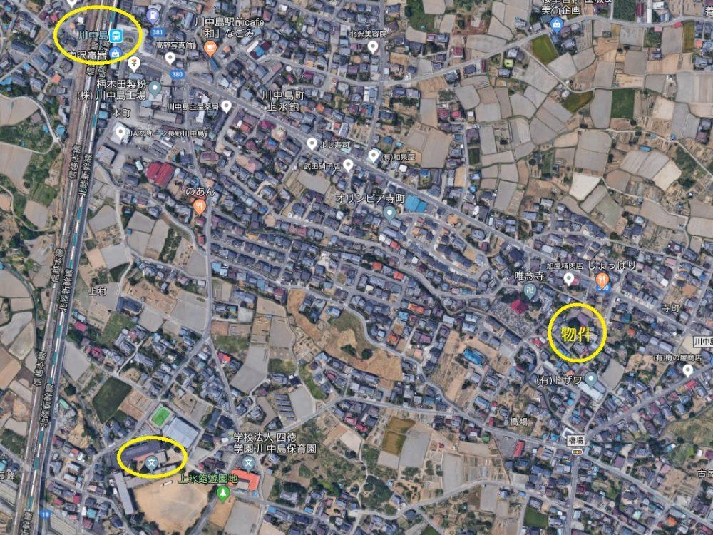 長野市川中島町上氷鉋土地