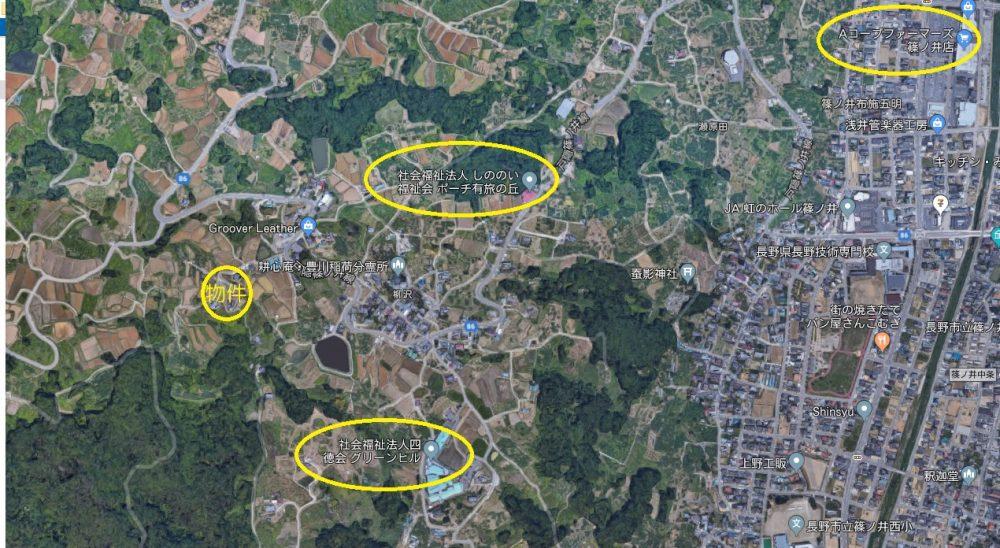 長野市篠ノ井有旅土地