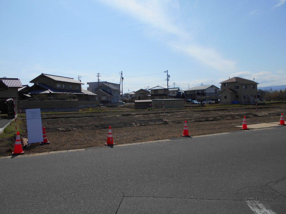 須坂市大字日滝土地(建築条件付き)