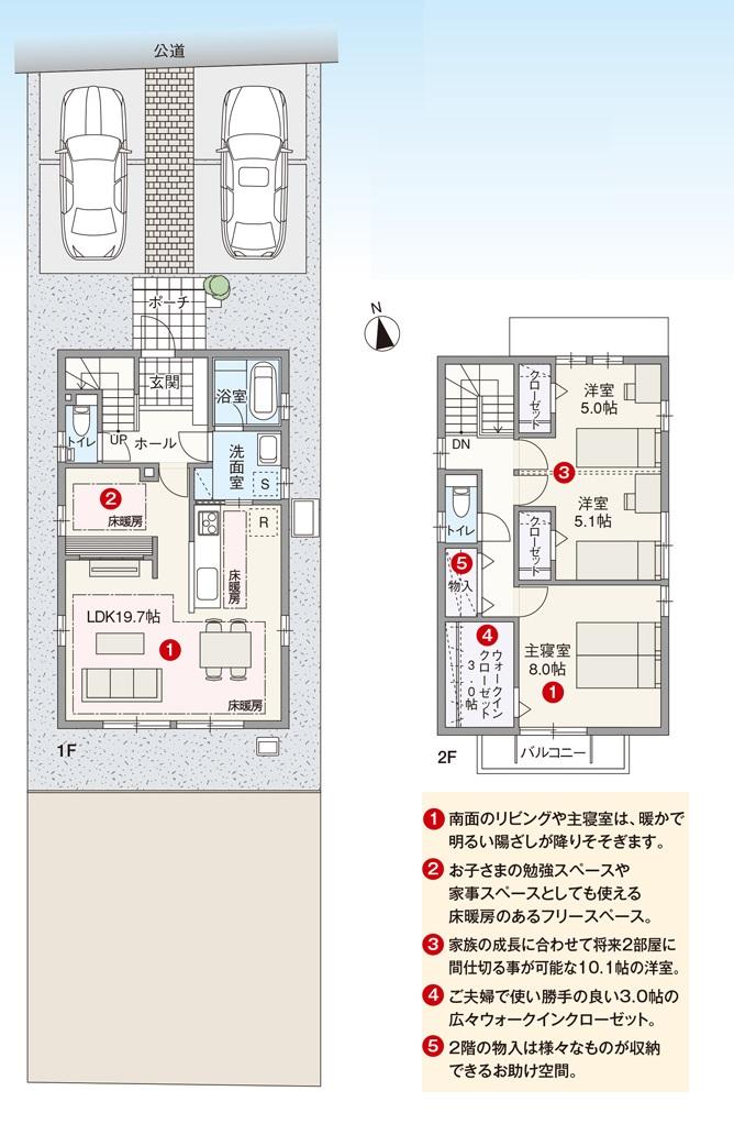 長野市篠ノ井御幣川新築戸建3LDK